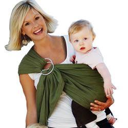 Babywearing With A Maya Wrap