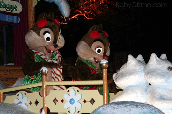 Disney Parade Chip and Dale