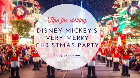 Disney Mickey's Very Merry Christmas Party Tips