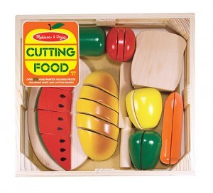play wooden food