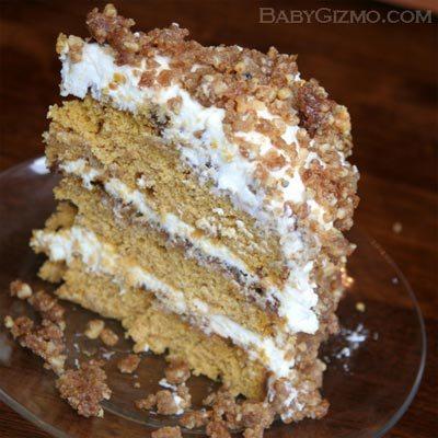 cake101 Pumpkin Crunch Cake