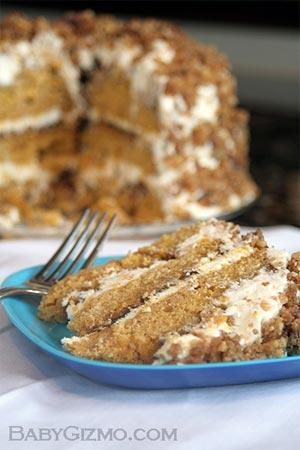 cake111 Pumpkin Crunch Cake