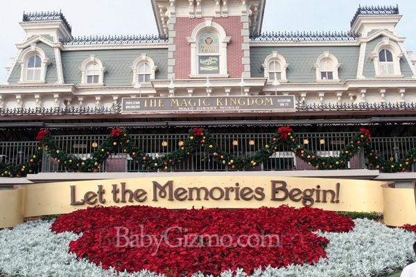 Disney Magic Kingdom Entrance