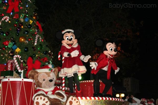 Disney World Christmas Parade