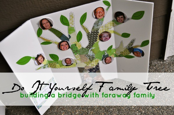 diy family tree 600w DIY Family Tree | Building a Bridge With Faraway Family