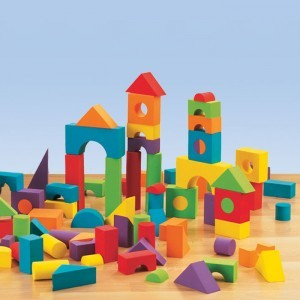 foamblocks 300x300 Things To Do With A Toddler While Nursing A Newborn