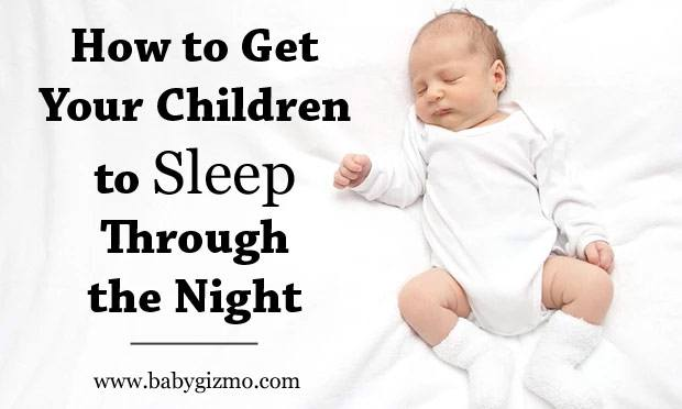 Baby sleeping schedules. How do you get your children to sleep through the night?