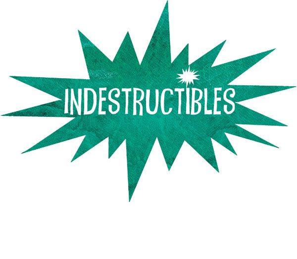 indestructibles book logo