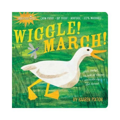 wiggle march book