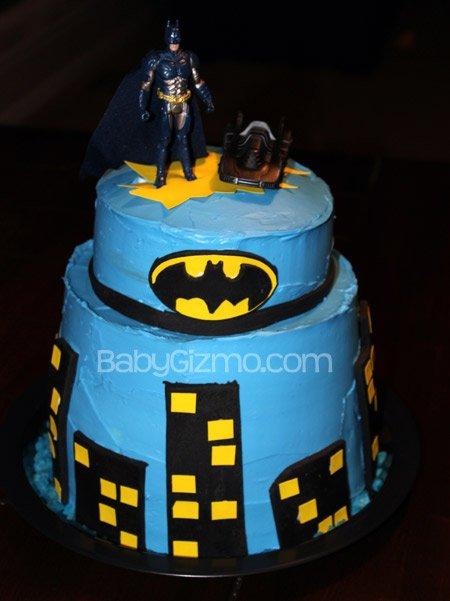 How To Make A Batman Cake