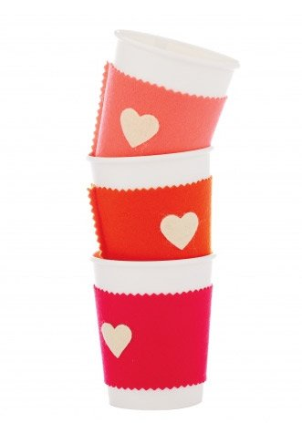 Valentine Craft Cups