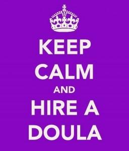 keep calm, doula