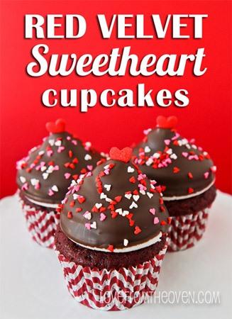Red Velvet Cupcakes Valentine Recipe