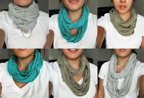 tee scarf