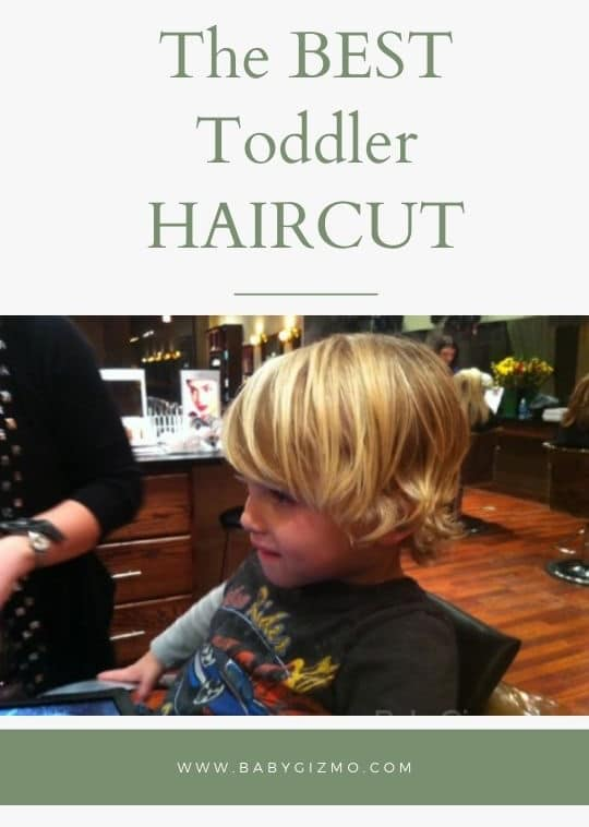 The Best Toddler Haircut Ever