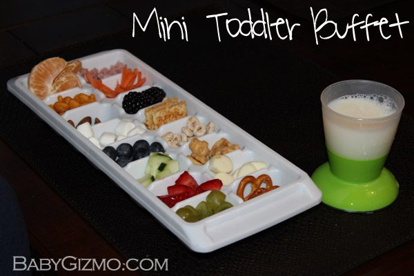 toddlerbuffet2 How to Make a Toddler Mini Buffet