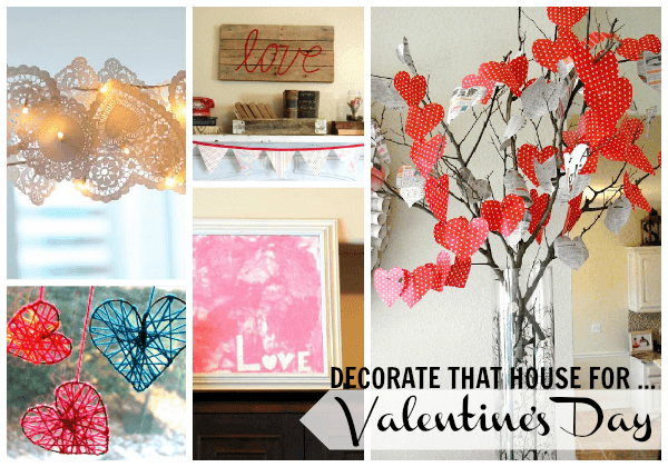 valentines decor Collage