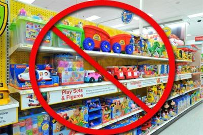 No more toys