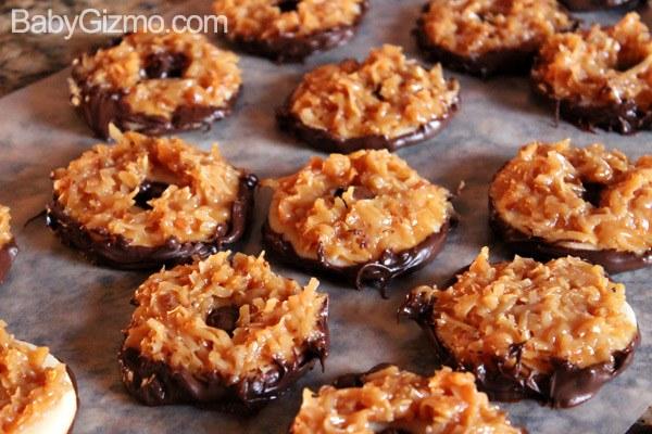 samoa cookie recipe
