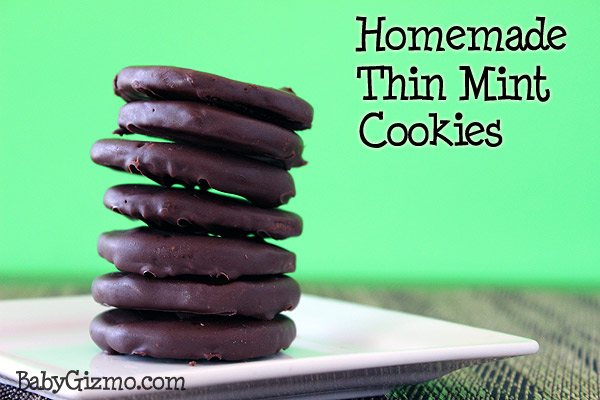 Thin Mint Cookies