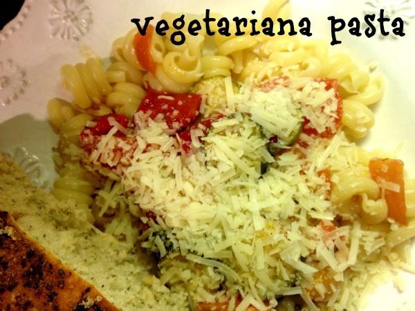Vegetariana Pasta
