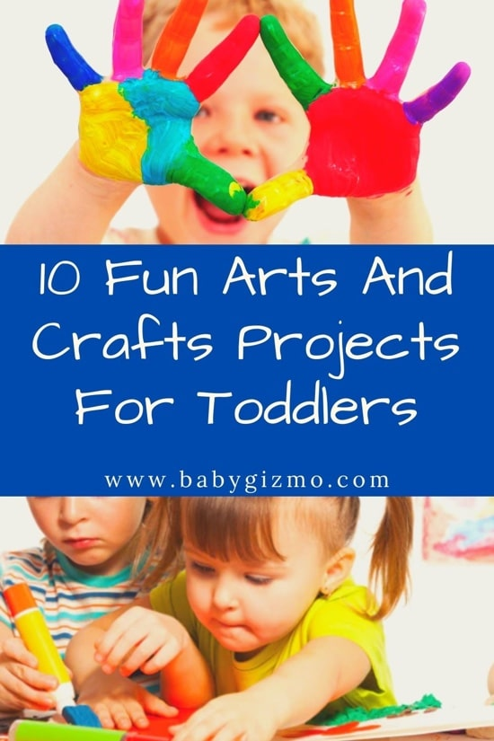 10 Fun Arts And Crafts Projects For Toddlers