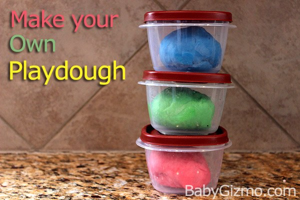 How to Make Your Own Playdough (Playdoh)