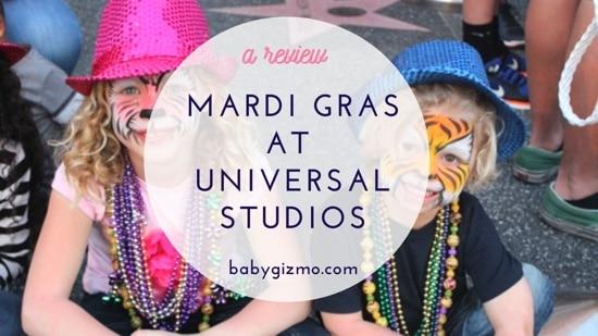 Mardi Gras for Kids at Universal Orlando
