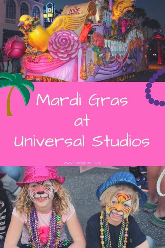 Mardi Gras Universal Studios
