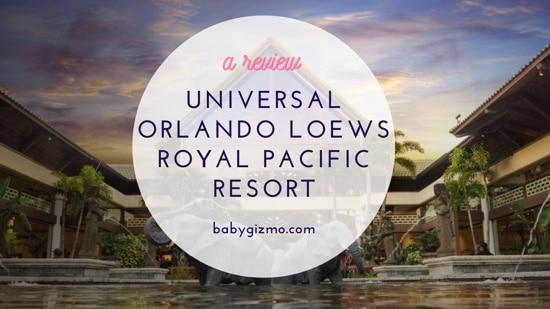 Universal Orlando Loews Royal Pacific Resort Review (VIDEO)