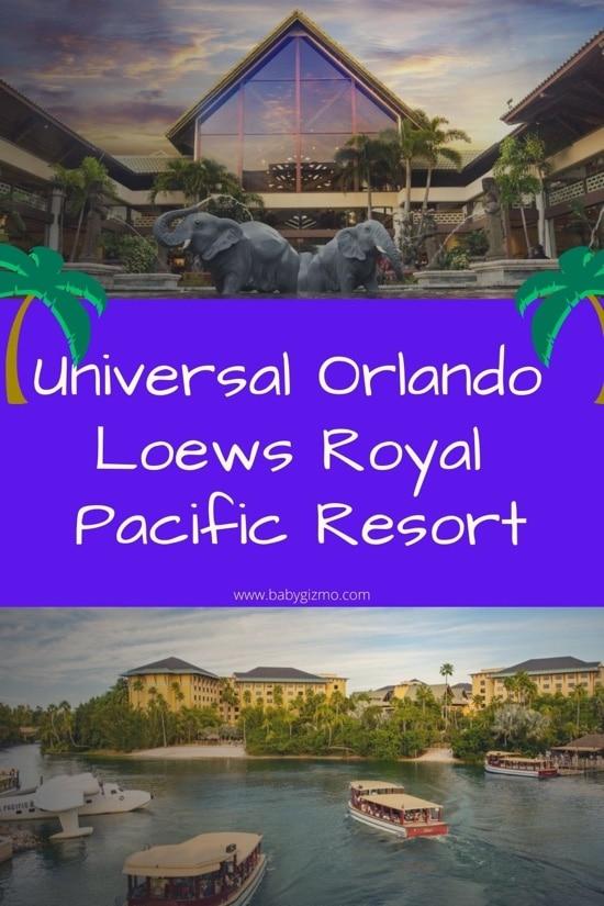Universal Orlando Loews Royal Pacific Resort Review