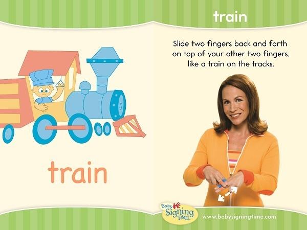 train sign language
