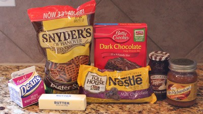 Pretzelbrownies_ingredients