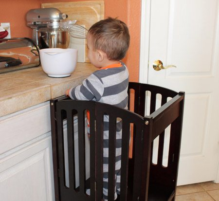 Kids Kitchen Helper Safety Tower Product Review | Baby Gizmo
