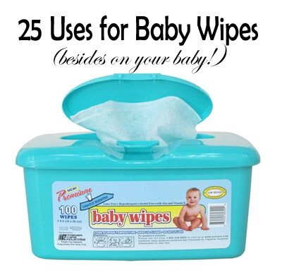 25 Uses For Baby Wipes Besides On Your Baby