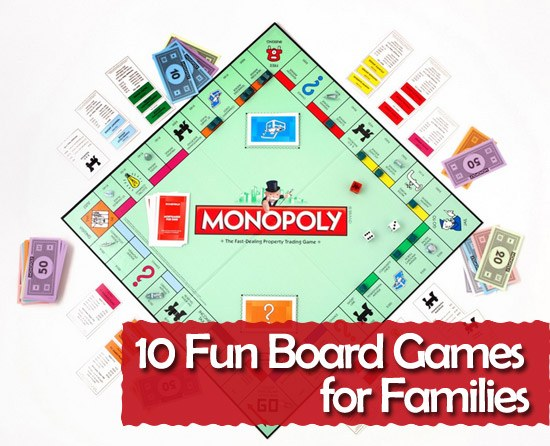 10 Fun Board Games For Families