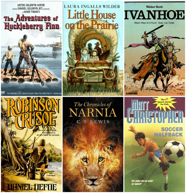 Classic Books to Read With Your Son