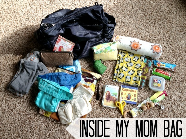 A Peek Inside My Mom Bag