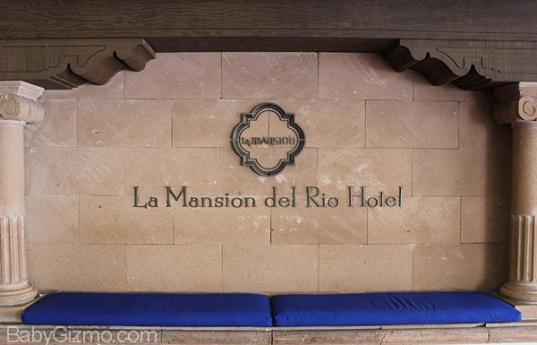 la mansion del rio entrance