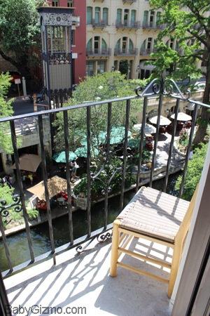 La Mansion Del Rio balcony