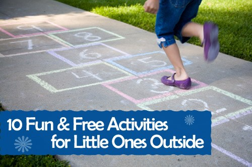 10 Fun And Free Activities For Little Ones Outside Of The Home
