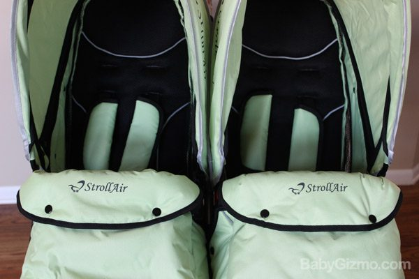 strollair seats Baby Gizmo Spotlight Review: StrollAir My Duo 2013 Stroller (+Giveaway)