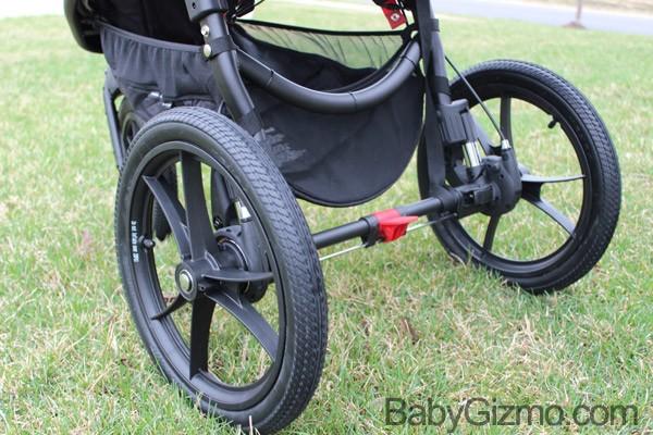 Baby Jogger Summit x3 wheels