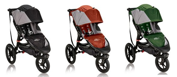 baby jogger Summit x3 colors