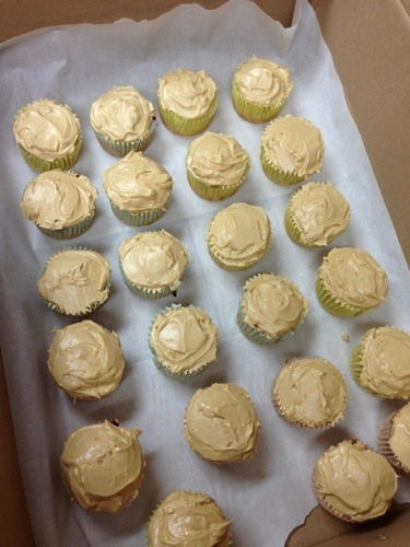 Recipe: Banana Peanut Butter Cupcakes