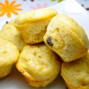 Banana Chocolate Chip Pancake Muffins