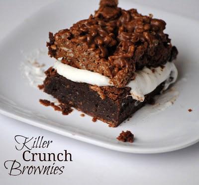 Killer Crunch Brownies
