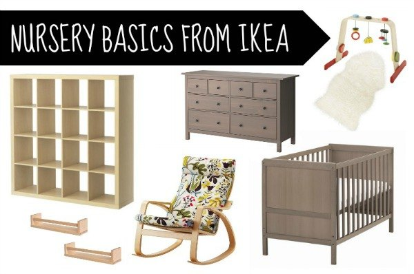 nursery basics from ikea