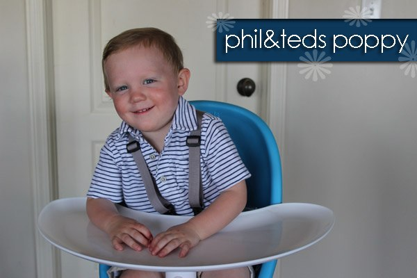 Baby Gizmo Spotlight Review: phil&teds Poppy High Chair