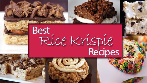 Rice Krispie Treats Recipes